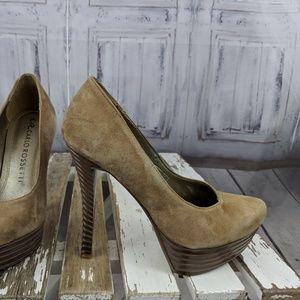 Carlo Rossetti heels stilettos shoes womens 22.5 6